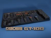 3d boss gt100 model