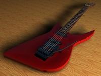 c4d ibanez wrb-3 guitar