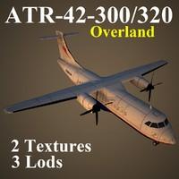 3d model atr-42-300 ola