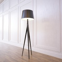 triana lamp metalarte 3d 3ds