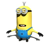 3d professional minion