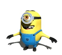 professional minion 3d model