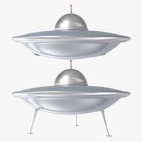 3d spaceship ufo