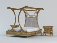3d classical bed model