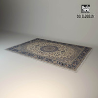 3d classic carpet model
