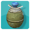 3d eihandgranate egg hand grenade model