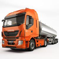 iveco stralis hi-way tanker truck max