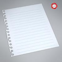 paper 3d x