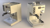rancilio espresso machine 3d dwg