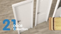 Door Set Collection (21 pieces)