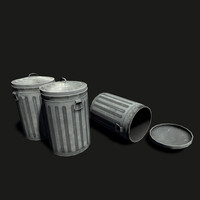 street trash ready 3d model