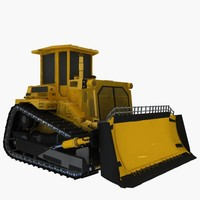 dozer 3d model
