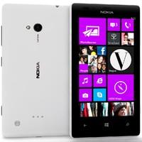 lumia 720 white 3d model