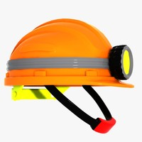 helmet hard hat 3ds