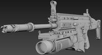 3d model scar mk13