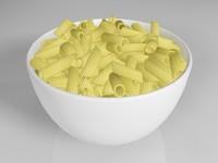 3d obj pasta food 3