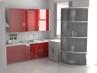 kitchen interior design 3d 3dm