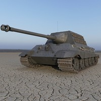 3d jagdtiger german tank model