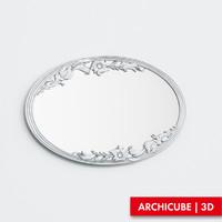 3d model mirror