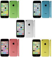 3d apple iphone 5c