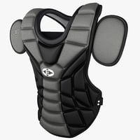 3d baseball catchers chest pad