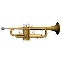 3d max trumpet horns