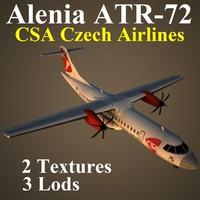 3d model alenia csa