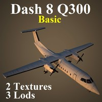 3ds max bombardier dash 8 basic