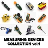 measuring devices vol 1 3d model