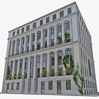 ny building 2 3d c4d