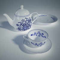 maya porcelain set