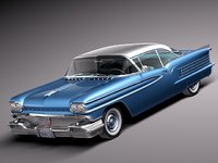 lightwave v8 coupe 1958 oldsmobile