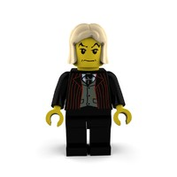 3d model malfoy character