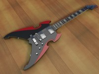cinema4d silvertone apocalypse special electric guitar