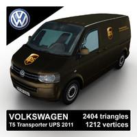 3ds max 2011 volkswagen t5 transporter