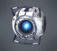 3d model wheatley portal animates
