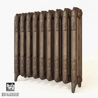 aestus versailles radiator 3d max