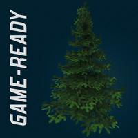3dsmax spruce