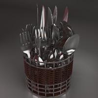 fbx fork spoon