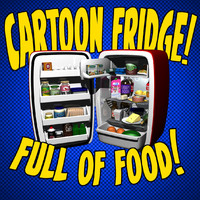 Cartoon refrigerator