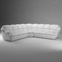 obj basic long corner sofa