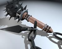3d hammer model