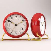 3d arne jacobsen clock model
