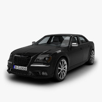 chrysler 300c 3d max