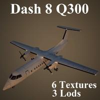3d max bombardier dash 8