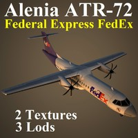 3d alenia fdx model