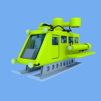 vessel submersible 3d 3ds