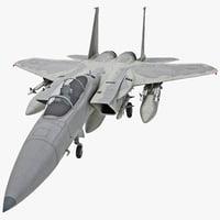 3ds max mcdonnell douglas f-15a eagle