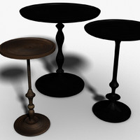 assortment tables 3d model