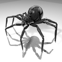 3d model spider h-light